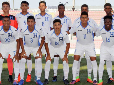 Honduras U-17 team. US Soccer