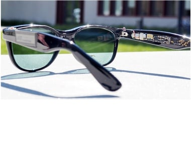 Researchers have developed sunglasses that generate electricity from solar energy