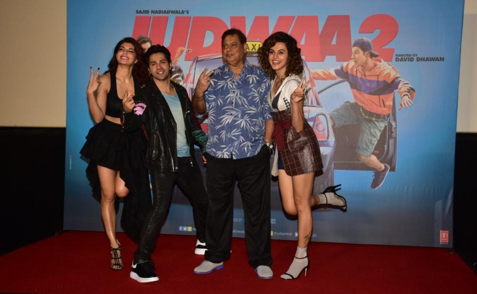 Produced by Sajid Nadiadwala and directed by David Dhawan, Judwaa 2 is presented by Fox Star Studios and Nadiadwala Grandson Entertainment.