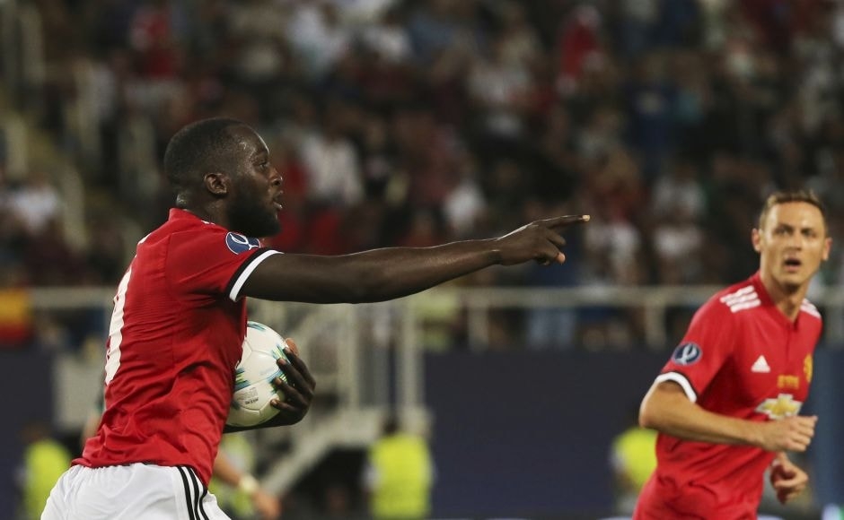 Making amends for an earlier miss, Lukaku opened his account for Manchester United making it 2-1 in the 62nd. He beat Keylor Navas after the goalkeeper had blocked a powerful shot from Nemanja Matic. AP