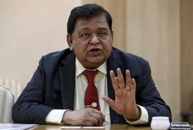 A M Naik, non- executive chairman, Larsen & Toubro Reuters