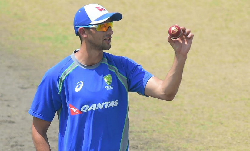 """Agar will look to impress alongside Nathan """"GOAT"""" Lyon with the ball this time around. AFP"""