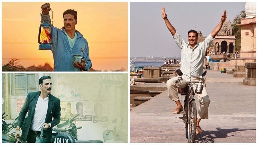 (Clockwise from top left) Stills from Toilet: Ek Prem Katha, Padman, Jolly LLB 2