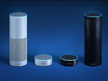 Amazon Echo and Echo Dot. Image: Amazon