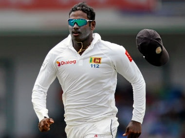 File image of Angelo Mathews. Reuters