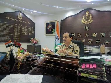 BSF DG KK Sharma. Image courtesy: Debobrat Ghose
