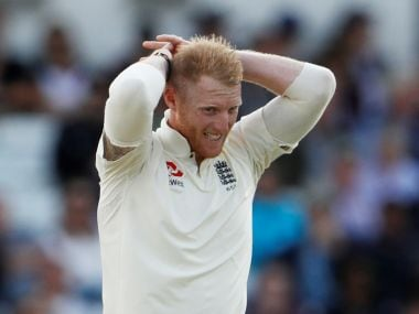 Cricket - England vs West Indies - Second Test - Leeds, Britain - August 26, 2017 England's Ben Stokes looks dejected Action Images via Reuters/Lee Smith - RTX3DF1A