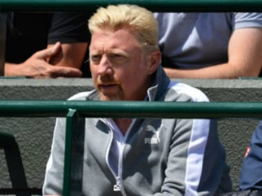 File photo of former German tennis player Boris Becker.AFP