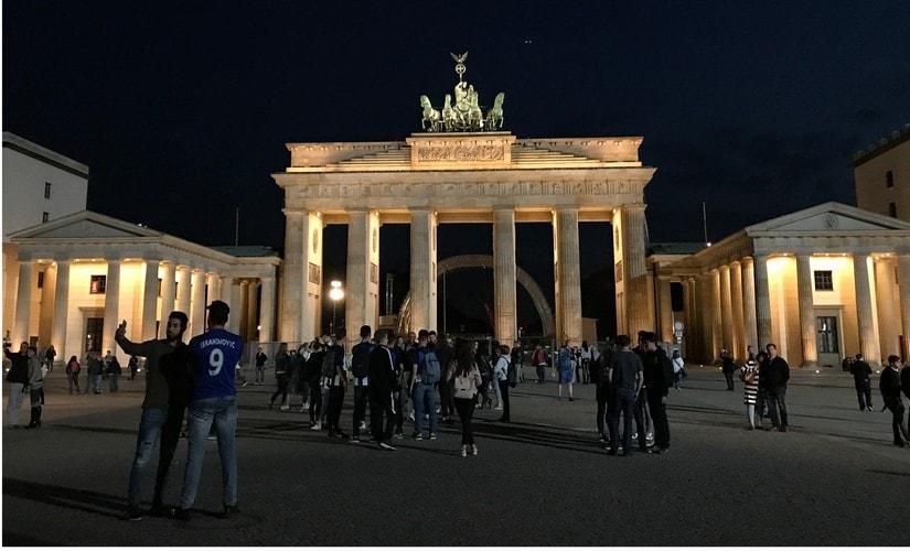 Brandenburg Gate. Image: Nimish Sawant