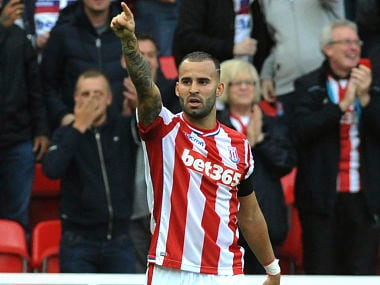 Premier League: Arsenal downed by Stoke City as Spaniard Jese Rodriguez scores on debut