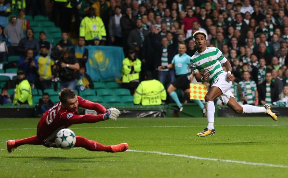 Scottish champions Celtic stamped their authority over Astana as they handed the Kazakhstan side a 5-0 drubbing with Scott Sinclair scoring two. Twitter @ChampionsLeague