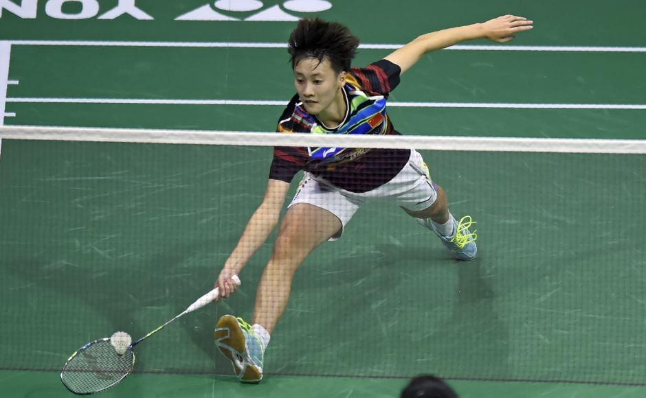 Chen Yufei, the world junior champion, had ousted the top seed, Akane Yumaguchi, and the 2013 champion, Ratchanok Intanon, on her way to the last four. But now after losing to PV Sindhu she will have to settle for the bronze medal. AFP