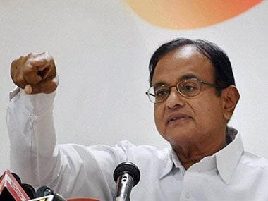 P Chidambaram terms AIADMK politics as 'farce', urges Tamil Nadu governor to take action