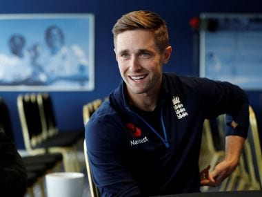 Cricket - England Press Conference - Birmingham, Britain - August 15, 2017 England's Chris Woakes during a press conference Action Images via Reuters/Paul Childs - RTS1BVXD