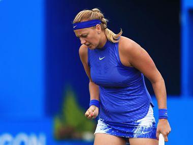 File image of Petra Kvitova. Image courtesy: Twitter: @WTA