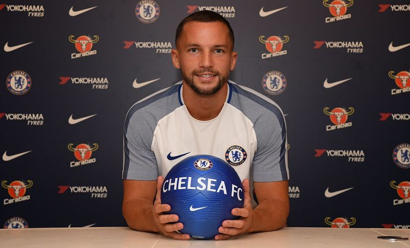 Danny Drinkwater reunites with N'Golo Kante at Chelsea. Image courtesy: Twitter @ChelseaFC
