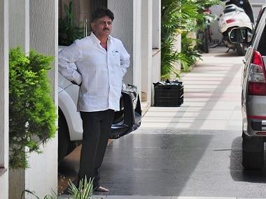 File image of DK Shivakumar. PTI