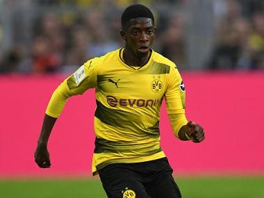 File image of Dortmund's Ousmane Dembele. AFP