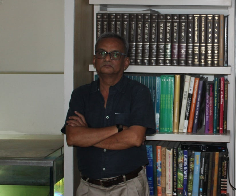 Devashis Bhattacharyya, who designed the DD logo. Image courtesy Radhika Oberoi