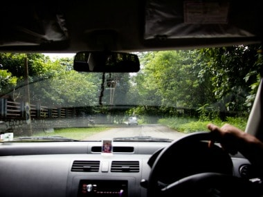 The drive from Kochi to Athirappilly is around 55 kilometres.