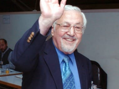 File image of Iran's former foreign minister Ebrahim Yazdi. AP