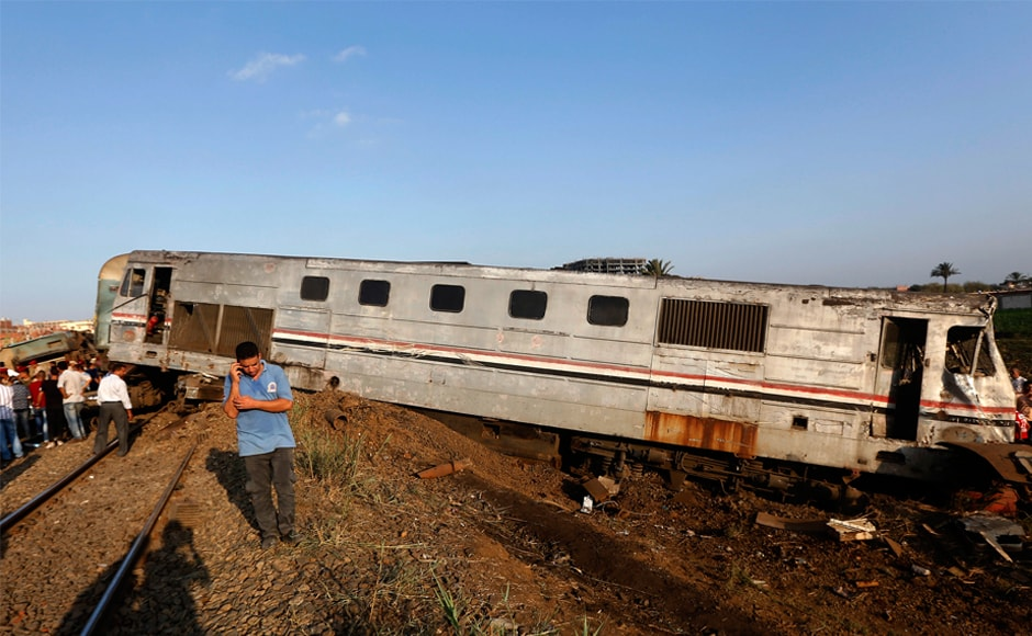 It is the deadliest train accident in the North African country since a train ploughed into a bus carrying schoolchildren in November 2012, killing 47 people. AP