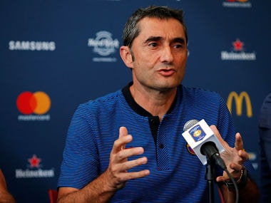 LaLiga: Ernesto Valverde says his future as Barcelona coach depends on whether team wins trophies at end of season