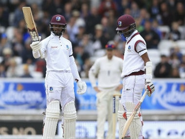 Shai Hope and Kraigg Brathwaite epitomised West Indies' fightback in the second Test. AP