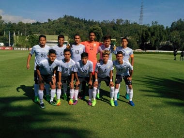File image of Indian U-17 team. AIFF