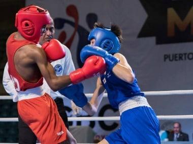 India's Selay Soy defeated Japan's Ruka Tagawa www.facebook.com/ASBC.Boxing/