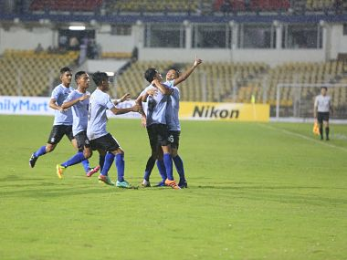 File image of Indian U-17 football team during the game against Chile. Image courtesy: Twitter @IndianFootball