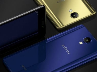 Transsion Holdings launches Infinix Note 4 and Hot 4 Pro in India for Rs 8,999 and Rs 7,499 respectively