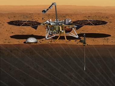 Artist conception of Project Insight. NASA