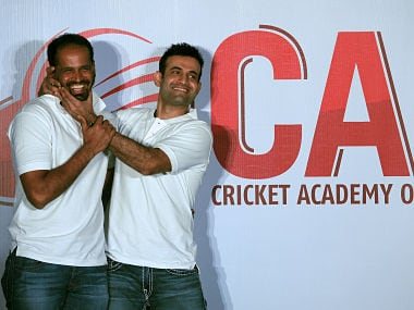File image of Irfan Pathan with his brother Yusuf Pathan. AFP