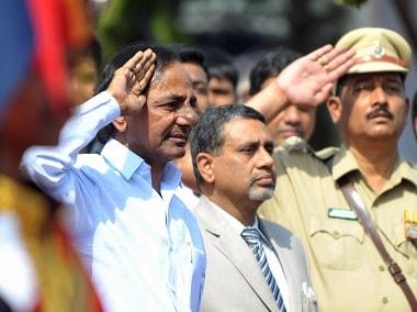 File image of Telangana chief minister K Chandrashekhar Rao