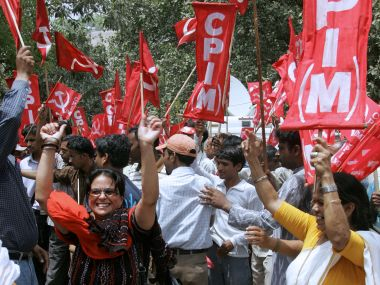 File image of CPM in Kerala. AFP