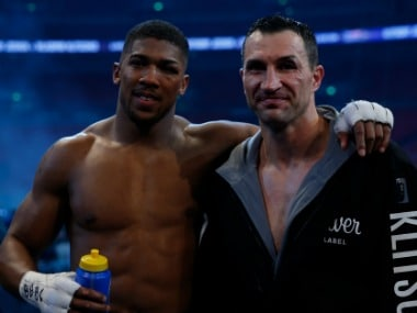 Wladimir Klitschko's last fight was against Anthony Joshua. Reuters