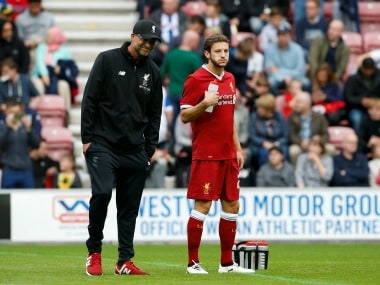Premier League: Liverpools fit-again Adam Lallana in line for first appearance of season in Southampton clash