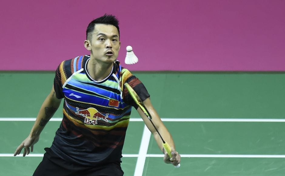 China's Lin Dan stayed on course for a record-breaking sixth men's singles title at the World Championships with a straight games quarter-final win over Hong Kong's Wong Wing Ki Vincent. AFP