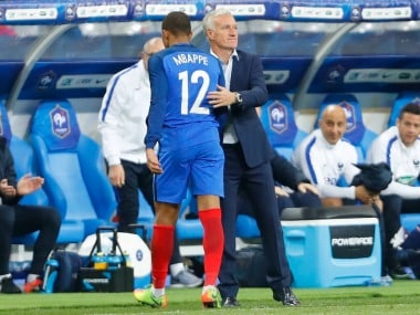 Kylian Mbappe named in French squad. Image Courtesy: Twitter @KMbappe