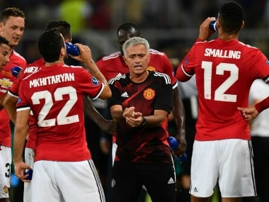 Jose Mourinho looks for positives in defeat against Real Madrid in UEFA Super Cup. Twitter/@ManUtd