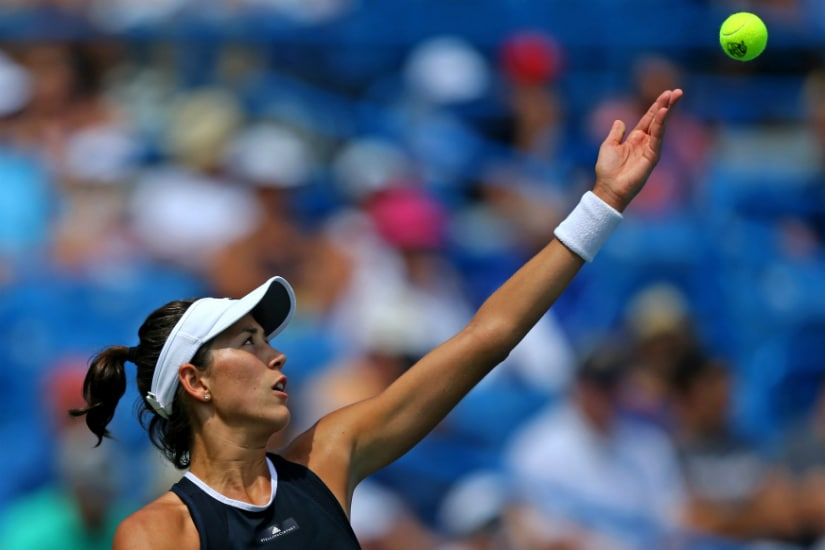 Will Garbine Muguruza continue her imperious form this US Open and leap into role as Serena Williams' heir apparent? Reuters