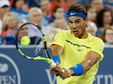 File image of Spain's Rafael Nadal. AP