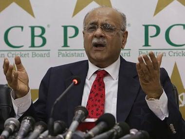 File image of Najam Sethi of PCB. AP