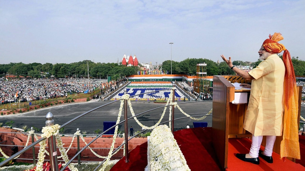 Narendra Modi seeking a 'New India by 2022' in his Independence Day speech shows prime minister is confident of re-election-Politics News , Firstpost