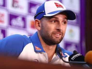 File image of Nathan Lyon. Image courtesy: Twitter/@CricketAus