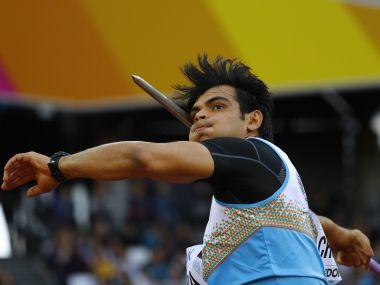 Athletics - World Athletics Championships – men's javelin throw – London Stadium, London, Britain – August 10, 2017 – Neeraj Chopra of India competes. REUTERS/Kai Pfaffenbach - RTS1B8R6