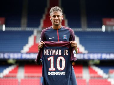 Neymar Jr. signed for Paris Saint-Germain in a move worth $257 million. Reuters