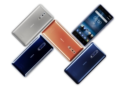 Here is how Nokia 8 and Sony Xperia XZ1 stack up against the competition