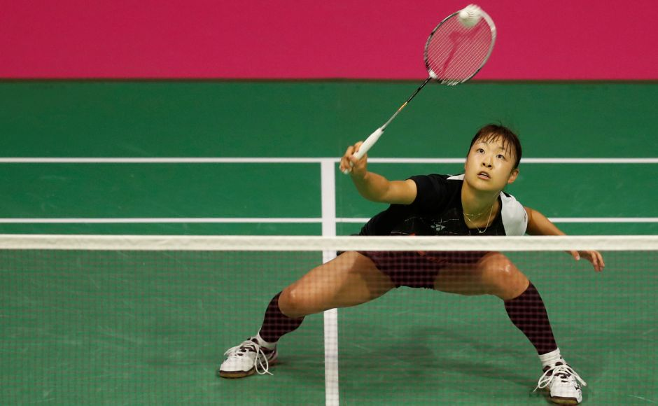 Nozomi Okuhara staged a great fightback against Saina Nehwal from one game down to make it to the final, getting stronger as the match went on. Reuters